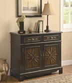 Coaster 950078 ACCENT CABINET (TWO-TONE BROWN)