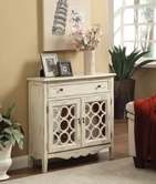Coaster 950143 ACCENT CABINET (ANTIQUE WHITE)