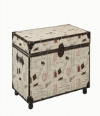 Coaster 950168 STORAGE TRUNK (OFF-WHITE)