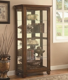 Coaster 950188 CURIO CABINET (WARM BROWN)