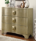 Coaster 950201 ACCENT CABINET (GOLD)