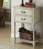Coaster 950231 ACCENT CABINET (ANTIQUE IVORY)
