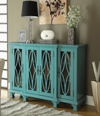 Coaster 950245 ACCENT CABINET (TEAL BLUE)