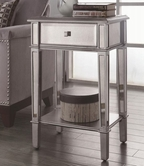 Coaster 950267 ACCENT TABLE (ANTIQUE SILVER)