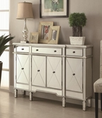 Coaster 950275 Accent Cabinet (Antique Silver)