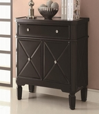Coaster 950277 ACCENT CABINET (BLACK)