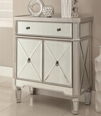 Coaster 950278 ACCENT CABINET (ANTIQUE SILVER)