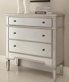 Coaster 950293 ACCENT CABINET (ANTIQUE SILVER)