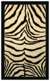 Coaster 970018L ZEBRA SAFARI RUG (LARGE)