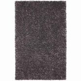 Coaster 970060L GRAPHITE SHAG RUG (LARGE)