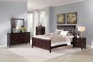 Coaster Coventry B180Q-M-D BEDROOM SET (DARK BROWN)