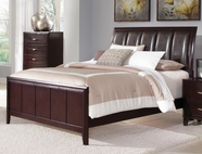 Coaster Coventry B180Q QUEEN BED (DARK BROWN)