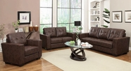 Coaster Enright Brown 503704-05 SOFA SET