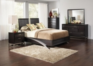 Coaster Justine 202531Q-33-34 BEDROOM SET (CAPPUCCINO)