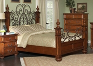 Coaster Kessner 202871Q QUEEN BED (OAK)