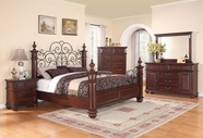 Coaster Kessner Ch 203171Q-73-74 BEDROOM SET (CHERRY)