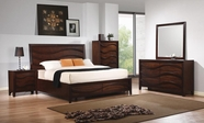 Coaster Loncar 203101Q-03-04 BEDROOM SET (JAVA OAK)