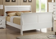 Coaster Louis Philippe 204 204691Q QUEEN BED (WHITE)