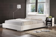 Coaster Maxine 300379KE E KING BED (WHITE)