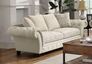 Coaster Willow 503761 SOFA (PLAIN/PRINTED OATMEAL)