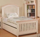 Crowley Twin Size Bed with Trundle - Acme 00755T-58