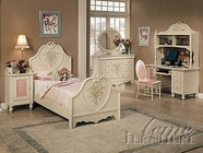 Dollhouse Bedroom Set - Acme 2665T-2215-2216