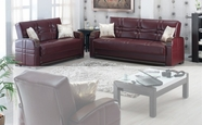 Empire MANHATTAN Leather Sofa Set