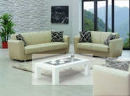Empire Yonkers Leather Sofa Set