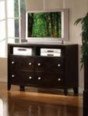 Espresso Finish TV Console - Acme 14307