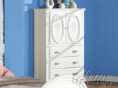Flora White TV Armoire - Acme 1667