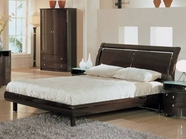 Global Furniture EMILY-W-FB Emily-W Wenge Full Bed