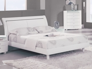 Global Furniture EMILY-WH-QB Emily-Wh White Queen Bed