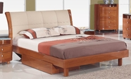 Global Furniture Evelyn-ch-FB Evelyn-Ch Cherry Full Bed