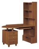 Global Furniture EVELYN-KIDS-CH-KSD Evelyn-Kids-Ch Cherry Kids Study Desk