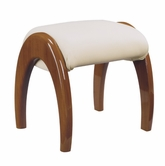 Global Furniture EVELYN-KIDS-CH-KSL Evelyn-Kids-Ch Cherry Kids Stool