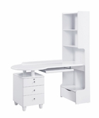 Global Furniture EVELYN-KIDS-WH-KSD Evelyn-Kids-Wh White Kids Study Desk