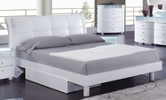 Global Furniture EVELYN-WH-KB Evelyn-Wh White King Bed