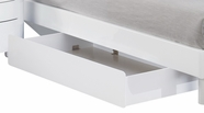 Global Furniture EVELYN-WH-OD Evelyn-Wh White Optional Drawer