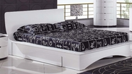 Global Furniture GIA-QB Gia White Queen Bed