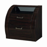 Global Furniture MADISON-NS Madison Wenge Night Stand
