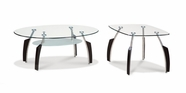Global Furniture T138BC-2XBE Black Occasional Table Set