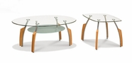 Global Furniture T138C-2XE Cherry Occasional Table Set