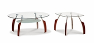 Global Furniture T138MC-2XME Mahogany Occasional Table Set