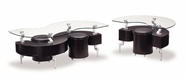 Global Furniture T288BC-2XBE Black Occasional Table Set