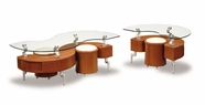Global Furniture T288C-2XE Cherry Occasional Table Set