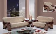 Global Furniture U2033-CHAMP FROTH-S+L+C Champion Froth Sofa And Loveseat And Chair