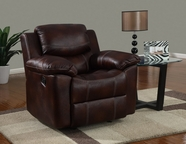 Global Furniture U2128-C Brown Printed Micro Chair