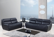 Global Furniture U3730-BL-S+L Bonded Leather Sofa And Loveseat