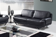 Global Furniture U4030-BL-S Bonded Leather Sofa