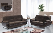 Global Furniture U4160-CHAMP CHOC/CHOC-S+L+C Champion Chocolate Sofa And Loveseat And Chair